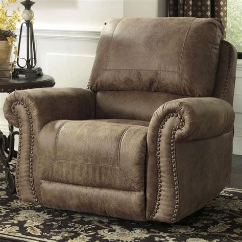 larkinhurst earth roll arm rocker recliner w nailhead