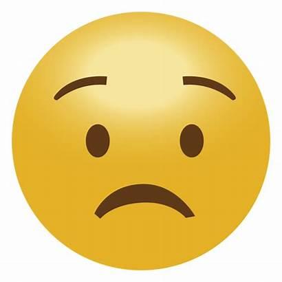 Sad Emoji Transparent Face Emoticon Happy Worry