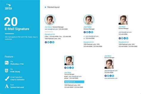 email signature 35 templates free download 31 email signature templates free premium creative