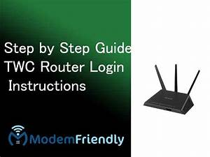 Twc Router Login Instructions