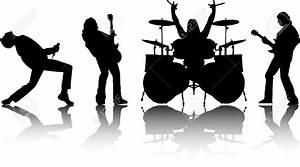 Rock Band Silhouette Clipart | Clipart Panda - Free ...