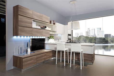 cuisine contemporaine bois cuisine bois et blanc recherche cuisine