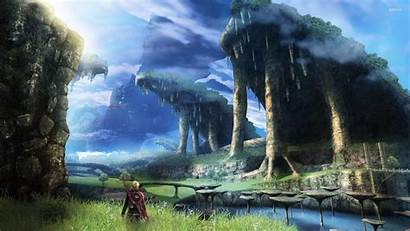 Xenoblade Chronicles Wallpapers Landscape Desktop Anime Backgrounds