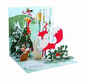 Pop Up Karte Weihnachten : pop up 3d weihnachten karte popshot fuchs und die tierwelt 13x13 cm 508548 ~ Buech-reservation.com Haus und Dekorationen