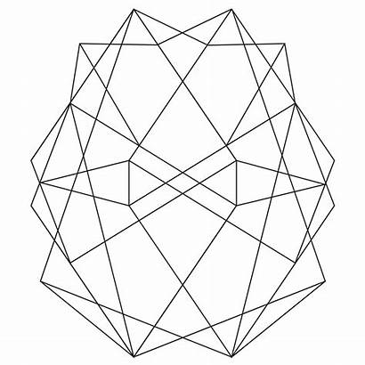 Abstract Geometric Coloring Pages Modern Designs Patterns