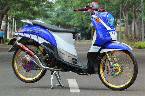Modif Fino 125 by Kumpulan Gambar Modifikasi Yamaha Fino 125 Keren Terbaru