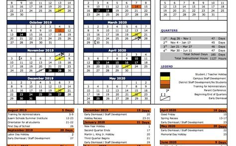 ilearn schools academic calendar ilearn schools