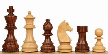 Chess Knight Pieces Wooden King Rosewood Staunton