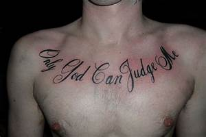 41+ Quotes Tatt... Chest Tattoo Love Quotes