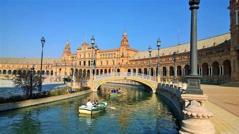 andalusia sevilla cities seville brilliant spain most plaza