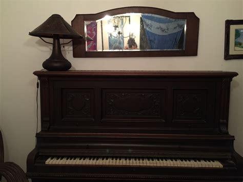 lester antique upright piano cabinet grand