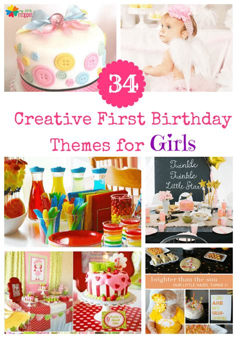 unique birthday party ideas for no princess 34 creative girl birthday party themes ideas my