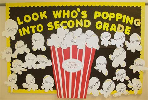 popcorn bulletin boards on popcorn theme 722 | c2eb3d94f00efd4615b721facca4b20e