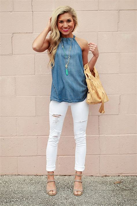 How to Wear White Denim Outfits this Summer u2013 Glam Radar