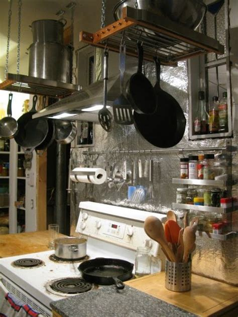 Ikea Pot Rack by Hanging Pot Rack Hack Crafts Diy Projects Pot Rack
