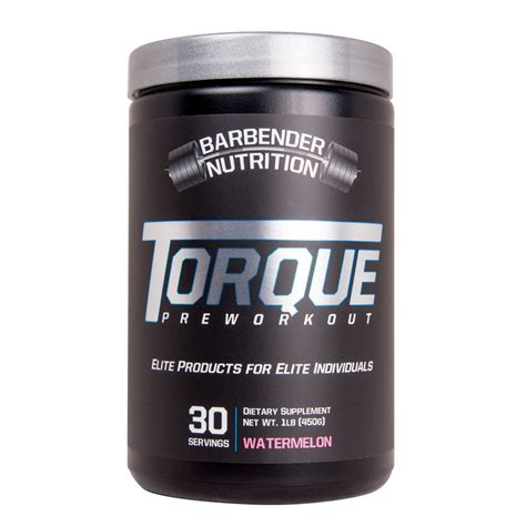 Amazon.com: Barbender Nutrition Torque Preworkout Powder