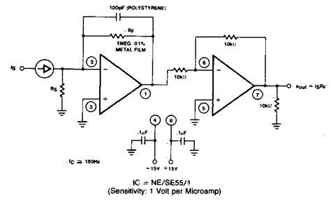 Simple Current Voltage Converter Circuit Diagram
