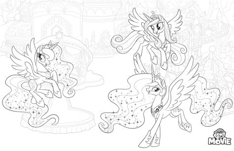 pony   coloring pages youloveitcom