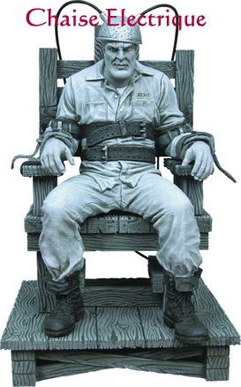 la chaise electrique la peine de mort en dictature