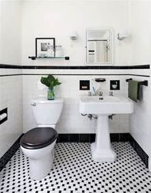 vintage bathroom tile ideas 31 retro black white bathroom floor tile ideas and pictures