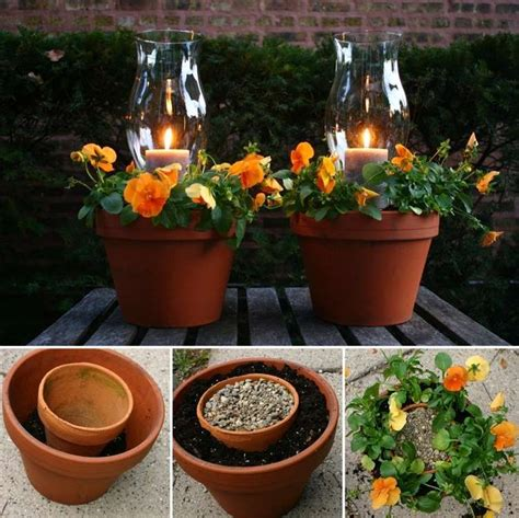 terracotta candle planters  simply fabulous
