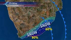 'Snow big deal' as cold front hits SA | eNCA