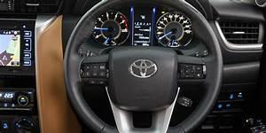 2016 Toyota Fortuner interior revealed - Photos (1 of 12)