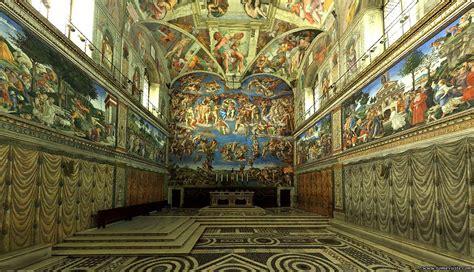 fresque du plafond de la chapelle sixtine rome touristiques et guide de voyagela chapelle sixtine du vatican 224 rome