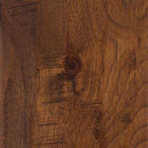 hardwood floor click and lock home legend take home sle distressed barrett hickory click lock hardwood flooring 5 in x