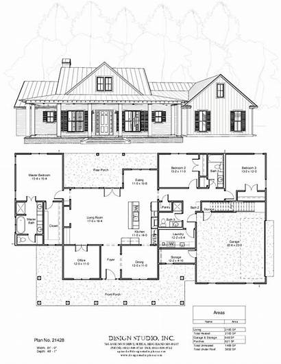 Plan Plans Studio Floor Designstudioplans Dream Farmhouse