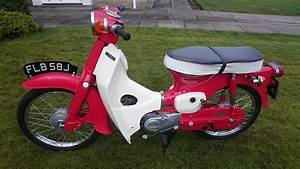 Restored Honda C50