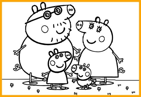 Peppa Pig Christmas Coloring Pages At Getcoloringscom