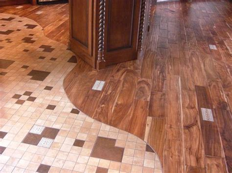 tile wood floors and tile on