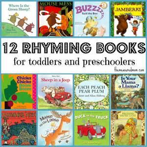 Toddler Rhyming Books