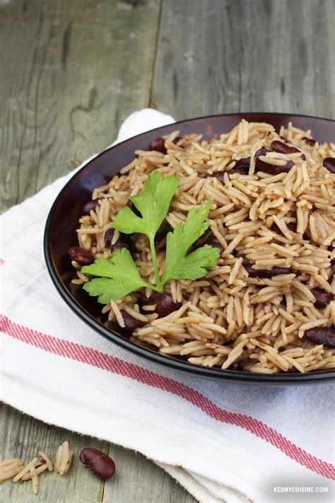 cuisine du riz riz collé aux pois rouges quot riz national quot