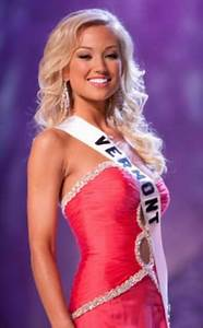 Brooke Werner, Miss Vermont 2009, the new NASCAR Miss ...