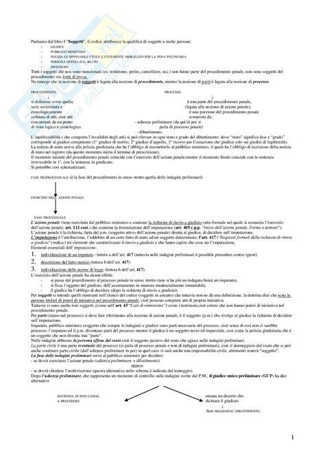 Dispensa Diritto Penale by I Processi Penali