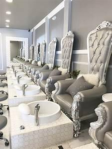Style Deco Salon : nail salon design nail salon decor pinterest nail ~ Zukunftsfamilie.com Idées de Décoration