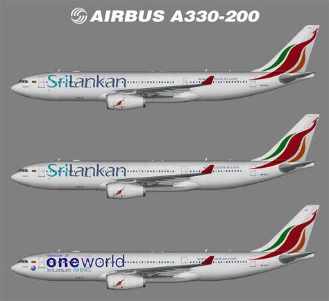 Srilankan Airbus A330-200 (fsp)