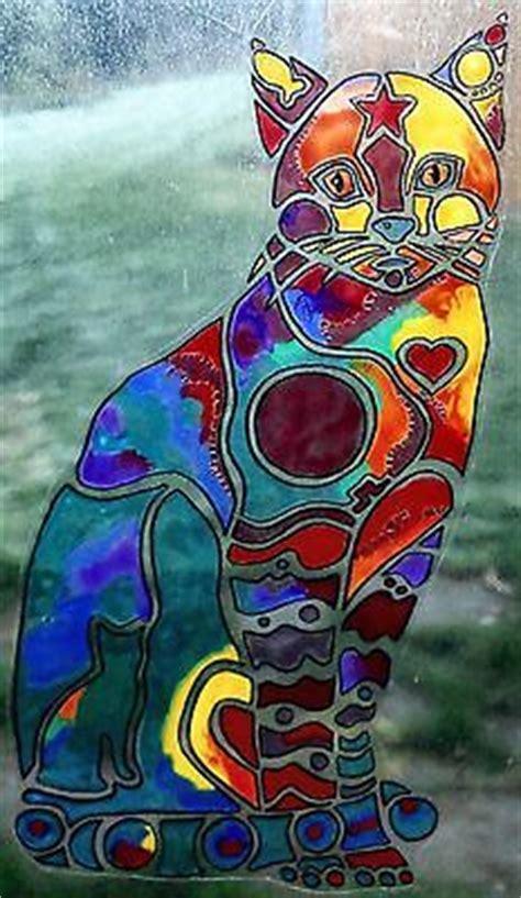 wicoart sticker window color cling faux stained glass pop