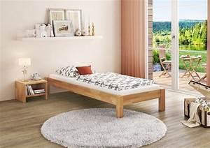 Erst Holz : einzelbett futonbett 80x200 massivholz buchebett massiv ~ A.2002-acura-tl-radio.info Haus und Dekorationen