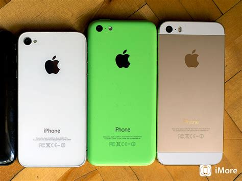 what s the difference between iphone 5s and 5c what s the difference between iphones imore