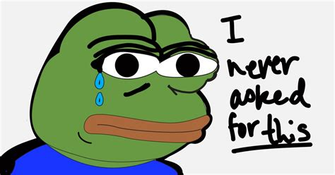 The Campaign To Save Pepe The Frog