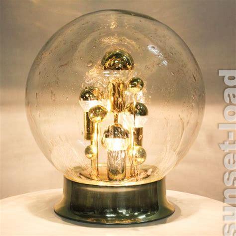 alte boden lampe doria planeten glas kugel steh leuchte