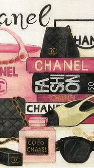 Chanel Collage – BeStitched Needlepoint