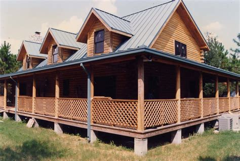 cabin plans with porch log cabin floor plans with wrap around porch