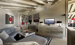 Luxury Ski Chalet in Courchevel, France Home Design