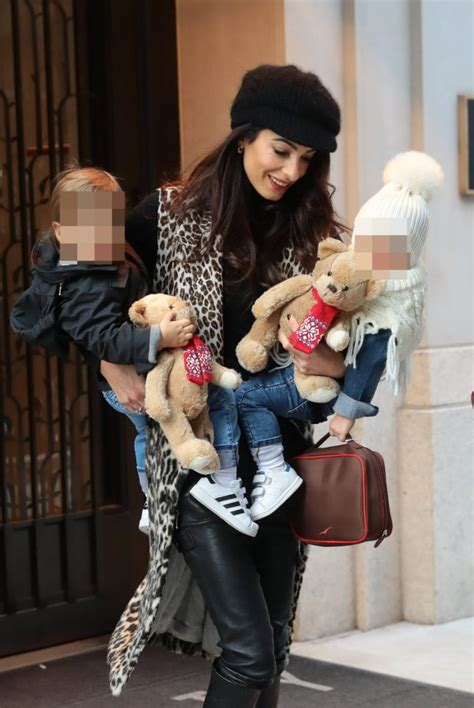 Amal clooney was born on february 3, 1978 in beirut, lebanon as amal ramzi alamuddin. Amal Clooney makes parenting look easy as she steps out with twins | Metro News