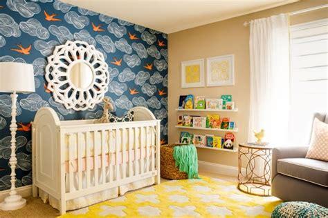 chambre bébé bleu et blanc décoration chambre bébé garçon en bleu 36 idées cool