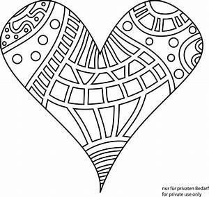 Herzen Zum Ausmalen : malvorlagen herzen zum ausdrucken herz bilder zum ausdrucken az chainimage ~ Buech-reservation.com Haus und Dekorationen